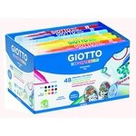 Rotuladores de colores Giotto Decortextile Schoolpack 494700