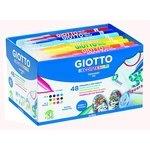 Rotuladores de colores Giotto Decortextile Schoolpack