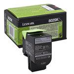 Tóner Lexmark 802SK negro 2.500 páginas