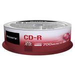CD-R grabable 700Mb 80 minutos Sony Tarrina 50 unidades