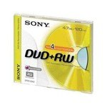 DVD+RW regrabable 4,7 Gb Sony 10DPW47SP