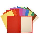 Subcarpeta cartulina reciclada colores vivos Flash Exacompta Forever 10 colores surtidos (10 por color)