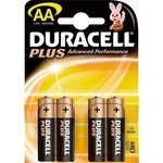 Pila alcalina Duracell Plus power AA 10LR6DRP