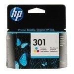 Cartucho inkjet HP 301 Tri-color 165 páginas