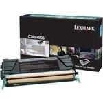 Tóner Lexmark C746 negro 12.000 páginas