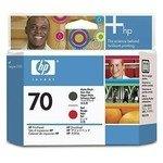 Cabezal impresión HP 70 Rojo y negro mater