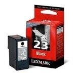 Cartucho inkjet Lexmark Nº 23 Negro 215 páginas 18C1523BR
