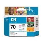 Cabezal impresión HP 70 Magenta claro y Cian claro  1200 páginas