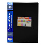 Carpeta con 20 fundas A4 polipropileno Officebox