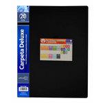 Carpeta con 20 fundas A4 polipropileno Officebox 2169