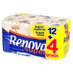 Papel higiénico doméstico Renova 2 capas