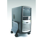 Soporte CPU ajustable acero Fellowes grafito