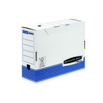 Caja de archivo definitivo Fellowes Automática Bankers Box System. A4 lomo de 100mm