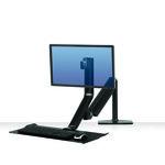 Estación de trabajo individual Sit Stand Fellowes Extend 1 monitor