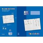 Cuaderno grapado Oxford Vocabulario dos idiomas y dibujo
