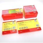 Bloc de notas adhesivas fluorescentes A-Series 50x40mm