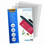 Fundas para plastificar 175 micras brillo Fellowes Protect 5308803