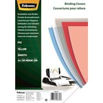 Portadas de encuadernar PVC transparente Fellowes A4 transparente 200 micras