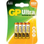 Pila alcalina GP Ultra Power Bank AAA LR03 1,5V