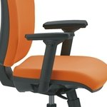 Juego de brazos regulables 3D tacto suave para silla operativa