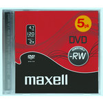 DVD-RW regrabable 4,7Gb Maxell Jewell Case