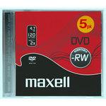 DVD-RW regrabable 4,7Gb Maxell
