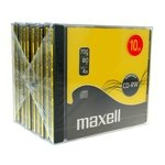 CD-RW regrabale 700Mb 80 minutos Maxell