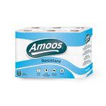 Papel higiénico doméstico 2 capas Amoos 415 servicios 50m