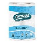 Rollo de papel de cocina doméstico 2 capas Amoos