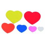 Figuras goma EVA adhesivas corazones Smart 5007