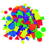 Figuras goma EVA adhesivas formas geométricas Smart