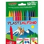 Lápices de cera de colores Plastialpino