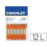 Lapices cera manley MNC04442