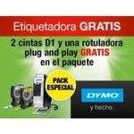 Pack 2 cintas Dymo D1+ etiquetadora PNP 19038421