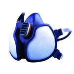 Máscara autofiltrante 3M para gases y vapores sin mantenimiento 4255 4255