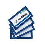 Marcos de identificación adhesivos Tarifold 80x45mm blanco