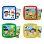 Set de 4 puzzles colección Estaciones de 2 a 5 años Miniland