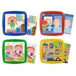 Set 4 puzzles colección Actividades Cotidianas de 3 a 7 años Miniland