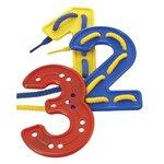 Set de números para coser de 3 a 6 años Miniland