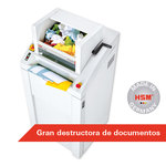 Destructora de documentos industrial HSM Powerline 450.2