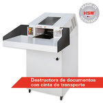 Destructora de documentos industrial HSM FA400