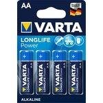 Pila alcalina Varta Longlife AAA LR03 1.5V