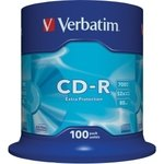 CD-R grabable imprimible 700MB 80 minutos Verbatim Printable tarrina de 50 unidades