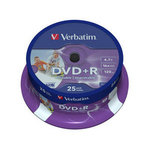 DVD+R Doble capa imprimible Verbatim caja de 5 unidades