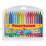 Lápices de cera de colores Plastidecor 882337