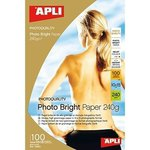 Papel fotográfico brillante Apli Photo Bright A4 240g