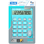 Calculadora de sobremesa 10 dígitos Milan Duo azul
