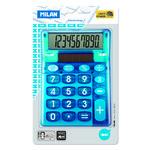 Calculadora de sobremesa de 10 dígitos Milan Look azul
