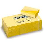 Bloc de notas adhesivas amarillas Tartan 7676