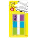 Dispensador de banderitas 3 colores Post-it Index azul, verde y violeta